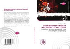 Capa do livro de Championnat de France de Football D2 1953-1954
