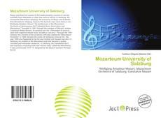Buchcover von Mozarteum University of Salzburg