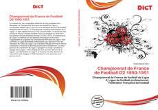 Capa do livro de Championnat de France de Football D2 1950-1951
