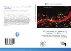 Bookcover of Championnat de France de Football D2 1936-1937