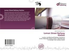 Buchcover von Leman Street Railway Station