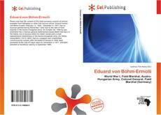 Capa do livro de Eduard von Böhm-Ermolli