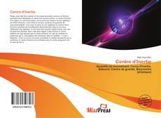 Buchcover von Centre d'Inertie