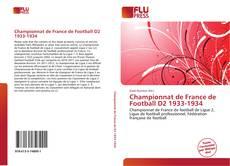 Bookcover of Championnat de France de Football D2 1933-1934