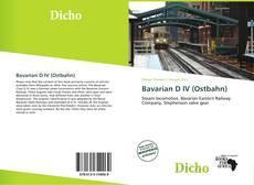 Borítókép a  Bavarian D IV (Ostbahn) - hoz