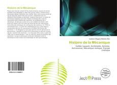 Capa do livro de Histoire de la Mécanique