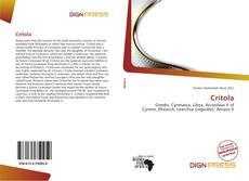 Bookcover of Critola