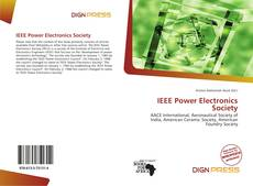 Bookcover of IEEE Power Electronics Society
