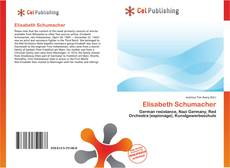 Bookcover of Elisabeth Schumacher