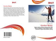 Günther Mader kitap kapağı