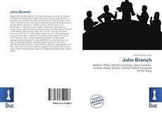 Copertina di John Branch