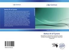 Bookcover of Battus III of Cyrene