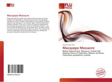 Bookcover of Macayepo Massacre