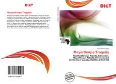 Couverture de Mayerthorpe Tragedy