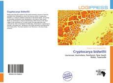 Обложка Cryptocarya bidwillii