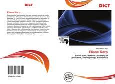 Buchcover von Eliane Karp