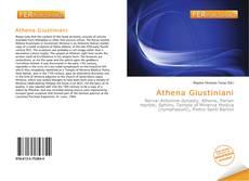 Обложка Athena Giustiniani