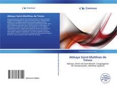 Buchcover von Abbaye Saint-Matthias de Trèves