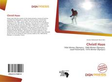 Bookcover of Christl Haas