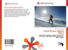 Bookcover of Franz Gruber (Alpine Skier)