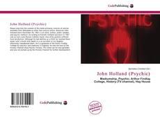 John Holland (Psychic) kitap kapağı
