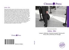 Bookcover of John Abt