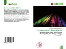 Bookcover of Communauté Saint-Martin