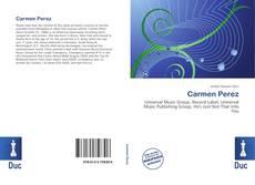 Portada del libro de Carmen Perez
