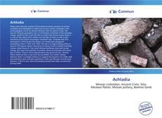 Achladia kitap kapağı
