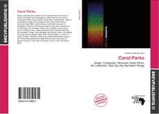Bookcover of Carol Parks