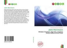 Buchcover von John Herrmann