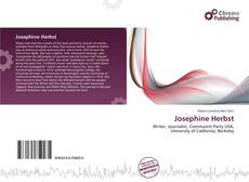 Portada del libro de Josephine Herbst