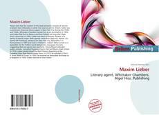 Bookcover of Maxim Lieber