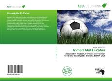 Bookcover of Ahmed Abd El-Zaher
