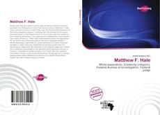 Portada del libro de Matthew F. Hale