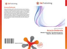 Acacia Delibrata kitap kapağı