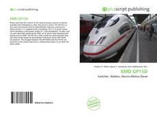 Borítókép a  EMD GP15D - hoz