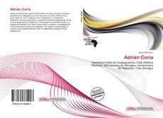 Portada del libro de Adrián Coria