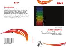Bookcover of Elena Shaddow
