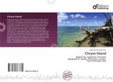 Couverture de Chryse Island
