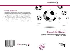 Kayode McKinnon的封面