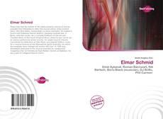 Buchcover von Elmar Schmid