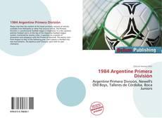 Portada del libro de 1984 Argentine Primera División