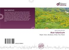 Обложка Acer tataricum