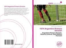 Bookcover of 1974 Argentine Primera División