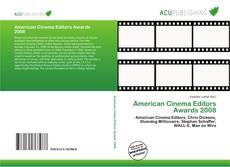 Bookcover of American Cinema Editors Awards 2008