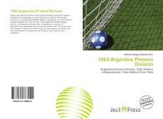 Bookcover of 1963 Argentine Primera División