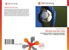 Portada del libro de Gerard van der Lem