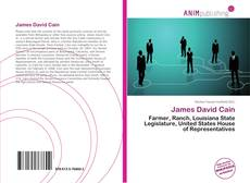 Bookcover of James David Cain
