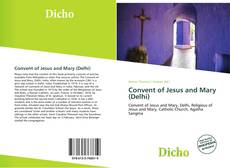 Buchcover von Convent of Jesus and Mary (Delhi)
